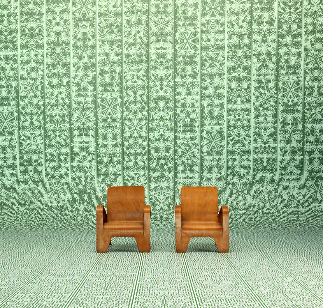 Achtung, die folgenden Bilder sind nur für Personen geeignet, die viel Muster vertragen und einen experimentellen Stil anstreben. Das stimmt natürlich so nicht ganz, wir zeigen euch heute innovative und witzige Motive des Tapetenherstellers Room Service Design.