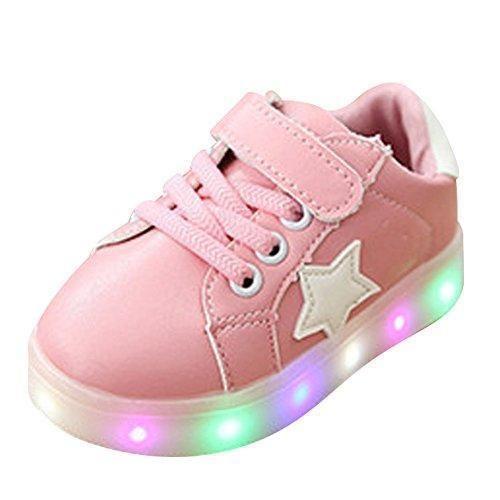 (Presente:peque?a toalla)Dorado EU 39, 7 plata Light moda Zapatos Silver LED Hombres de J