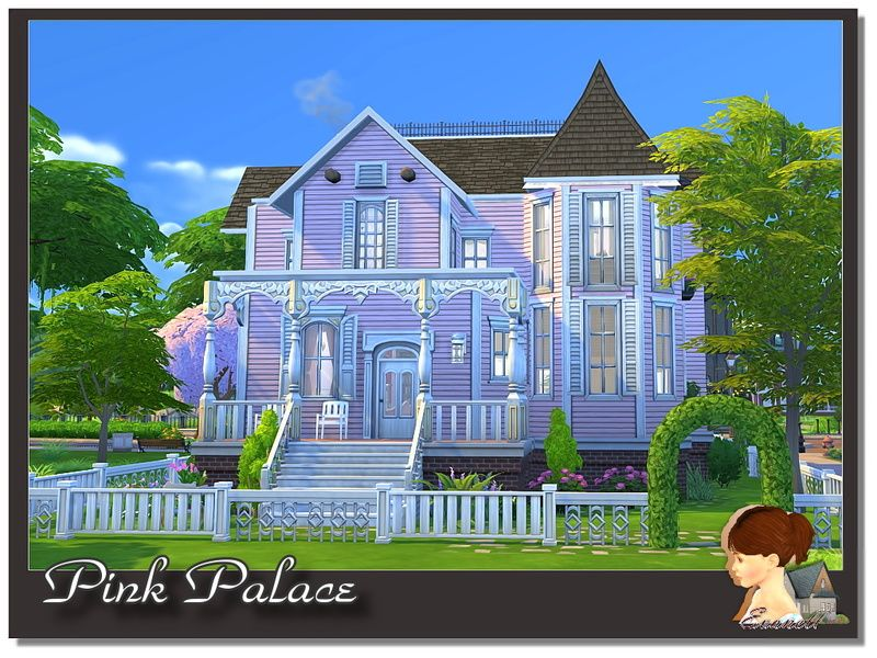 Evanell S Pink Palace Pink Palace Sims Baby Coraline