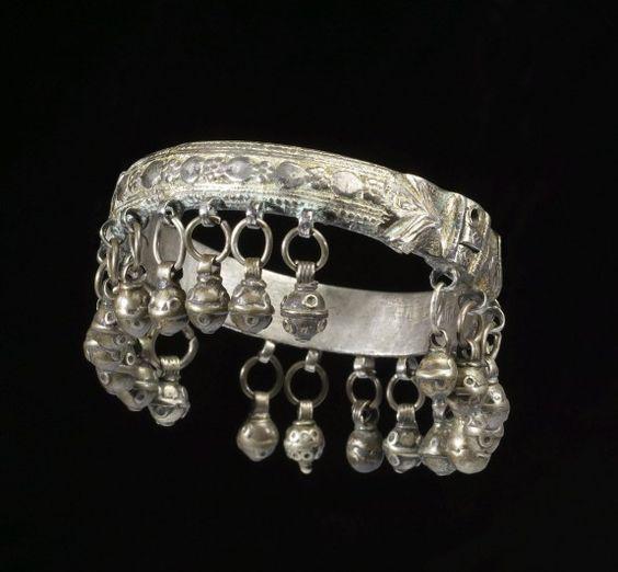 Bracelet. Sa?id ha-Lewi (Yemeni, active ca. 1775-1809) (Silversmith). PERIOD 1189-1224 AH/AD 1775-1809.:
