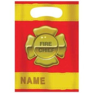 Firefighter Loot Bags 8ct