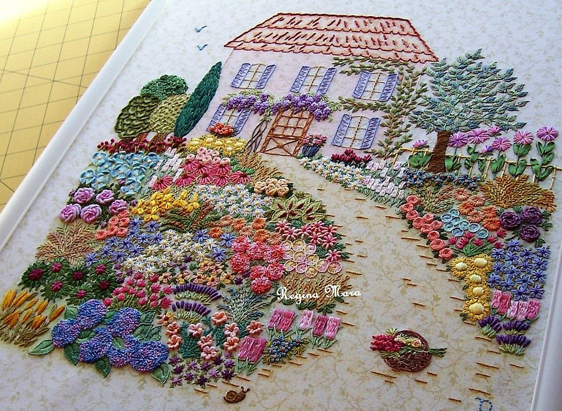 Brazilian embroidery bedspread designs - Brazilian Embroidery Sorting Hand Embroidery Cross Stitch Free Embroidery Books Spring Summer Embroidery Cloth