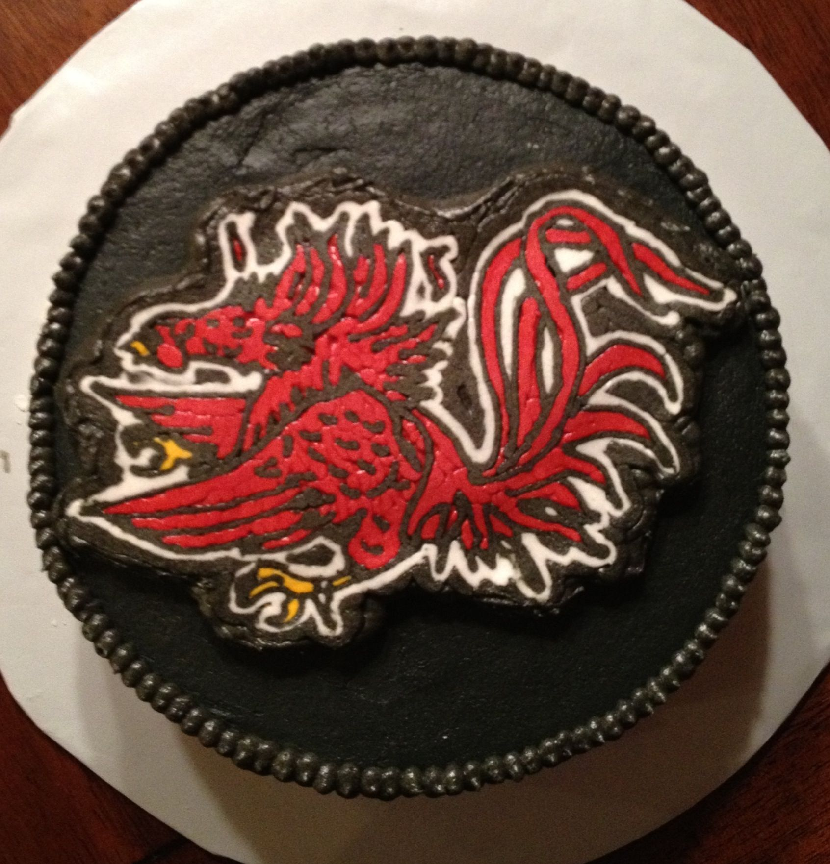 Gamecock Birthday Cake Simply Shane Delicious Treats And