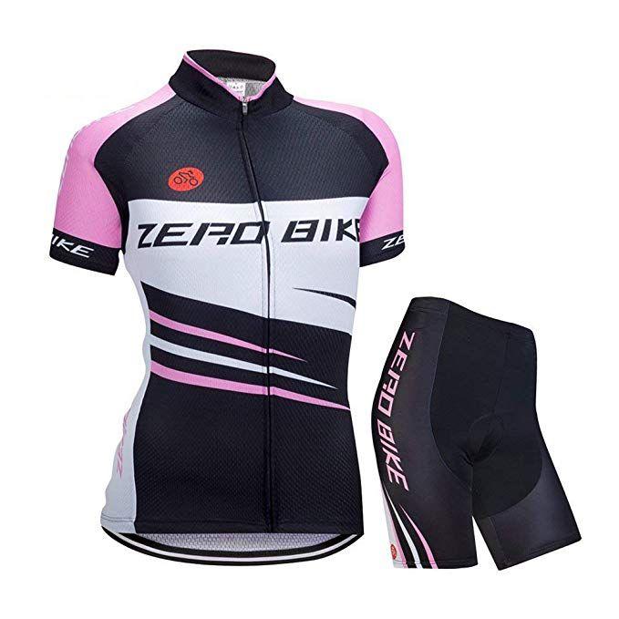 Zerobike Women S Short Sleeve Cycling Jersey Jacket Cycling Shirt