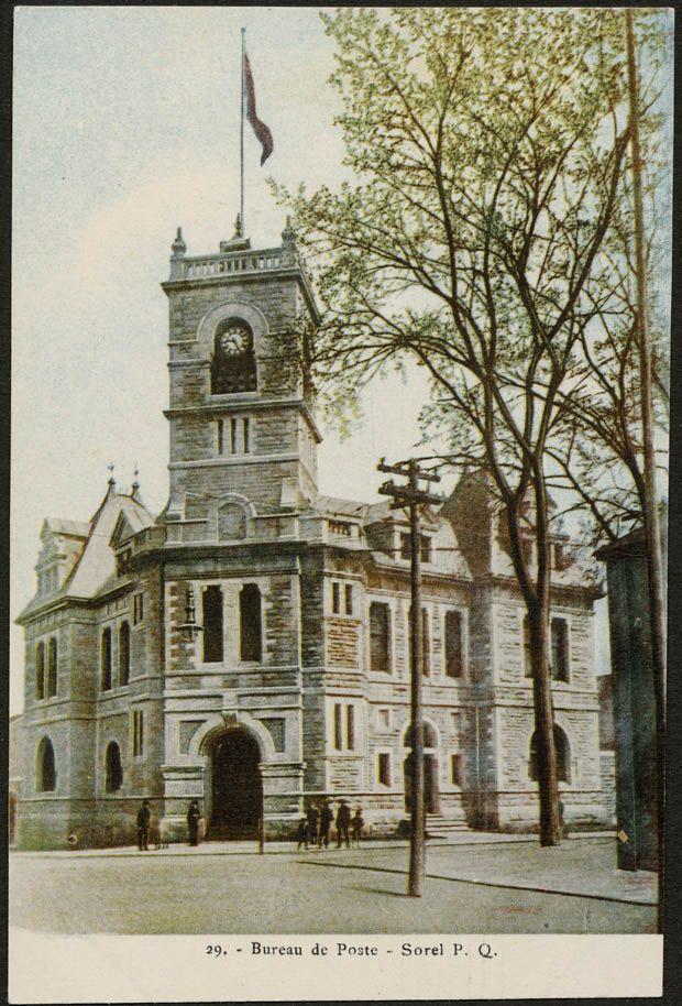 Recherche De Fonds D Archives Bibliotheque Et Archives Canada Sorel Big Ben Landmarks