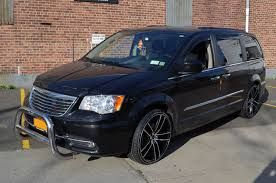 Black Wheels 2012 Chrysler Town And Country Google Search