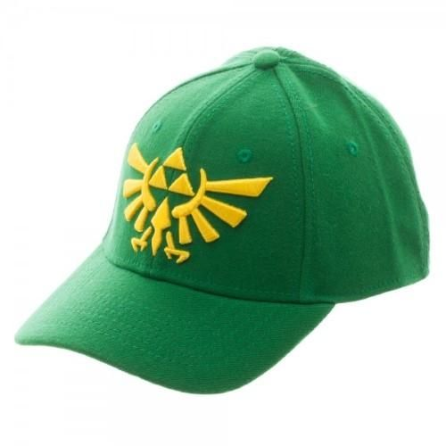 c97cdb634f7ad Nintendo Legend of Zelda Green Flex Cap Hat OSFA not snapback Licensed  Authentic