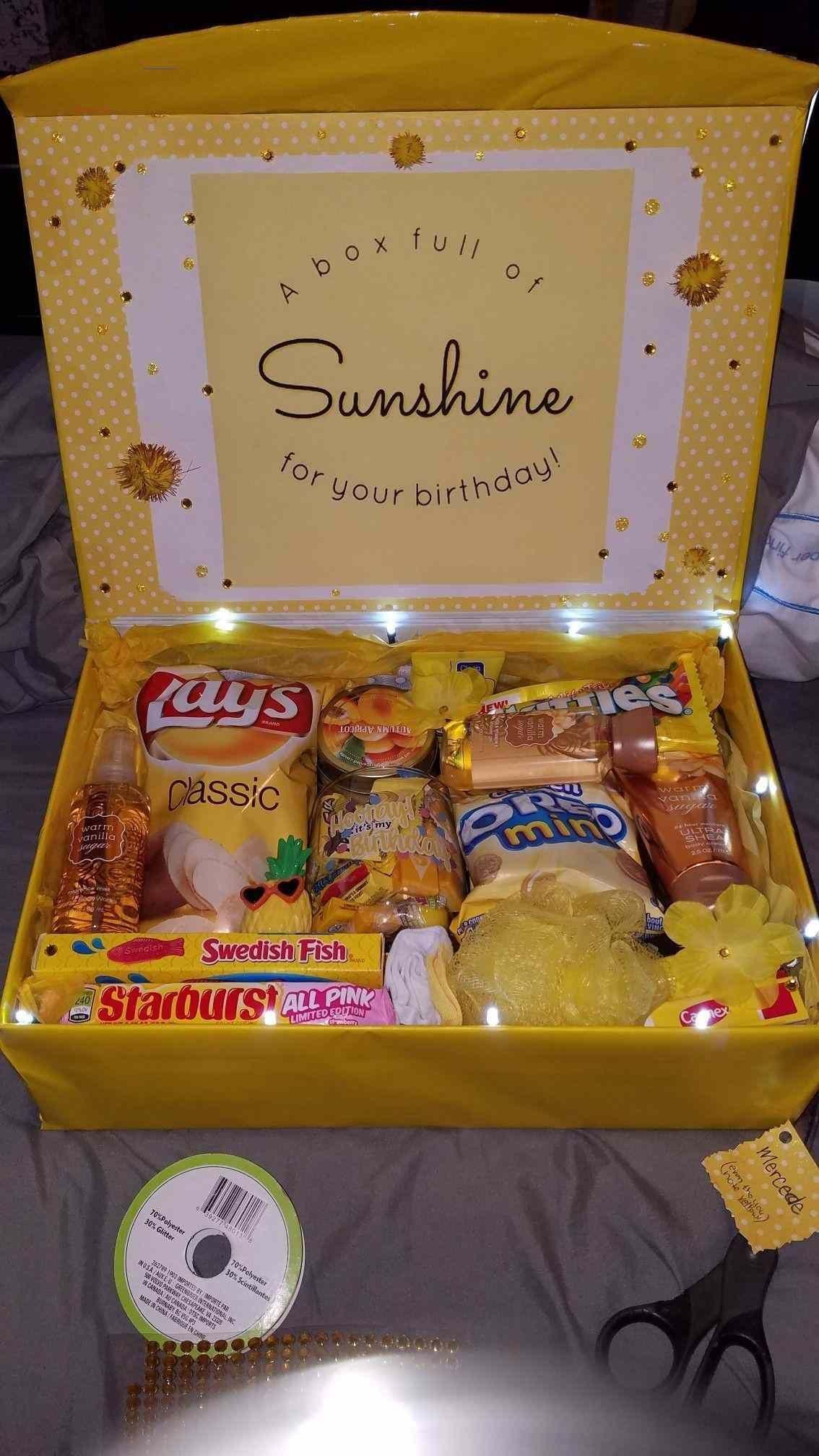 diy birthday box ideas friendbirthdaygifts birthday