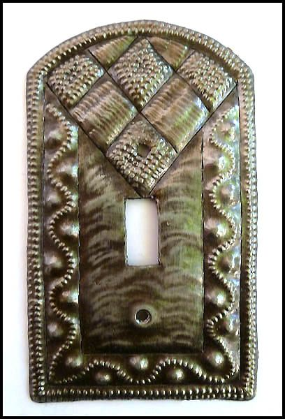 Hand Hammered Metal Light Switch Plate Cover - Haitian Recycled ...