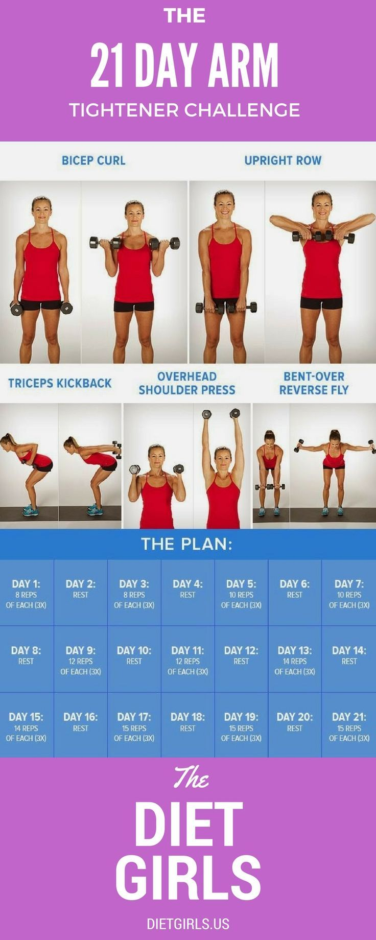 21 Day Arm Workout…. *** Find out more at the image