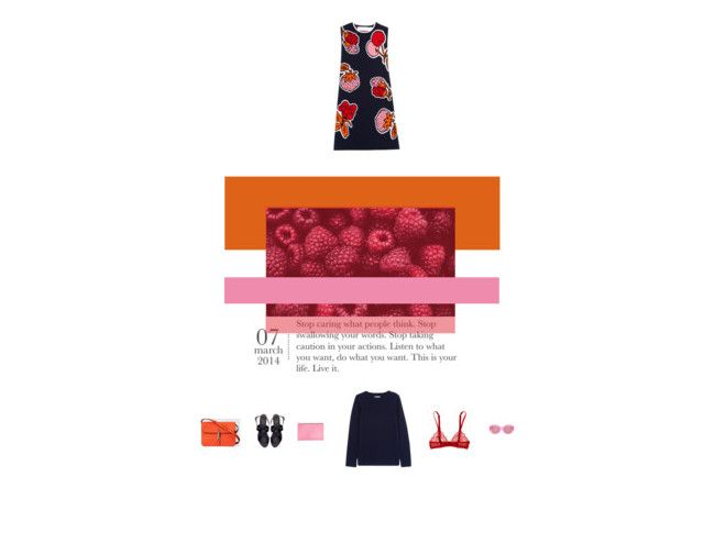 """map of the world - monsters of folk"" by aimable ❤ liked on Polyvore featuring Victoria, Victoria Beckham, Gucci, Victoria Beckham, Myla, Chinti and Parker, Zara and Karen Walker"