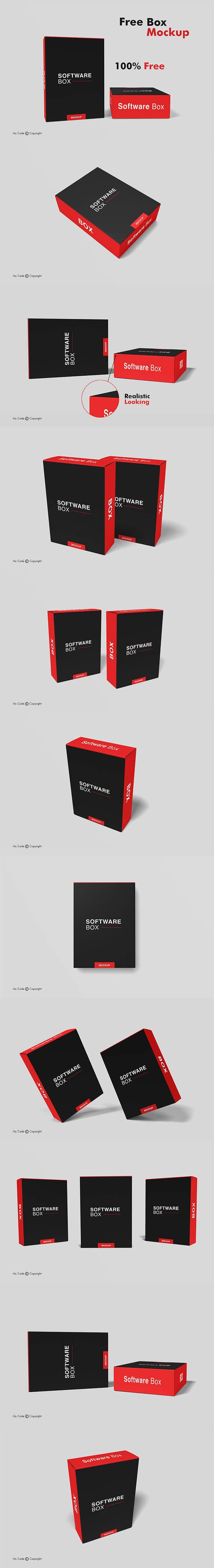 11112+ Box Mockup Software Best Free Mockups