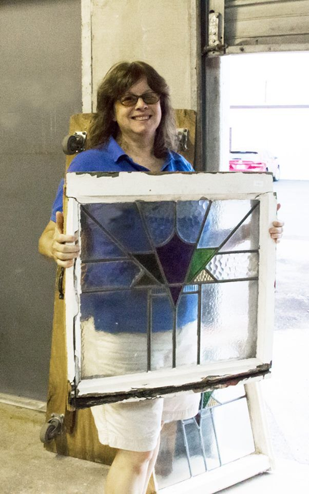 Kayellen of San Antonio bought this beautiful window at one of our Stained Glass Madness auctions for $65.