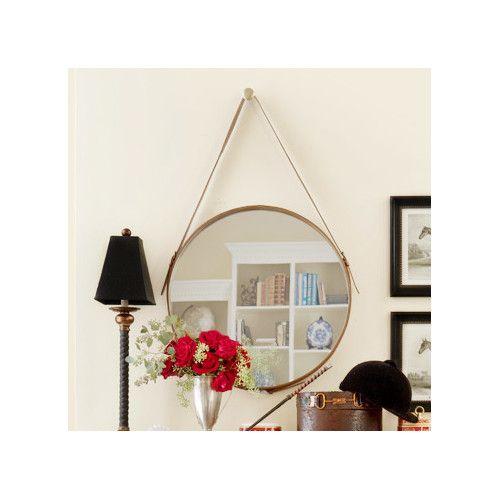 Stylish Ideas For A Sleek Sleep: Found+it+at+DwellStudio+-+Distressed+Wall+Mirror