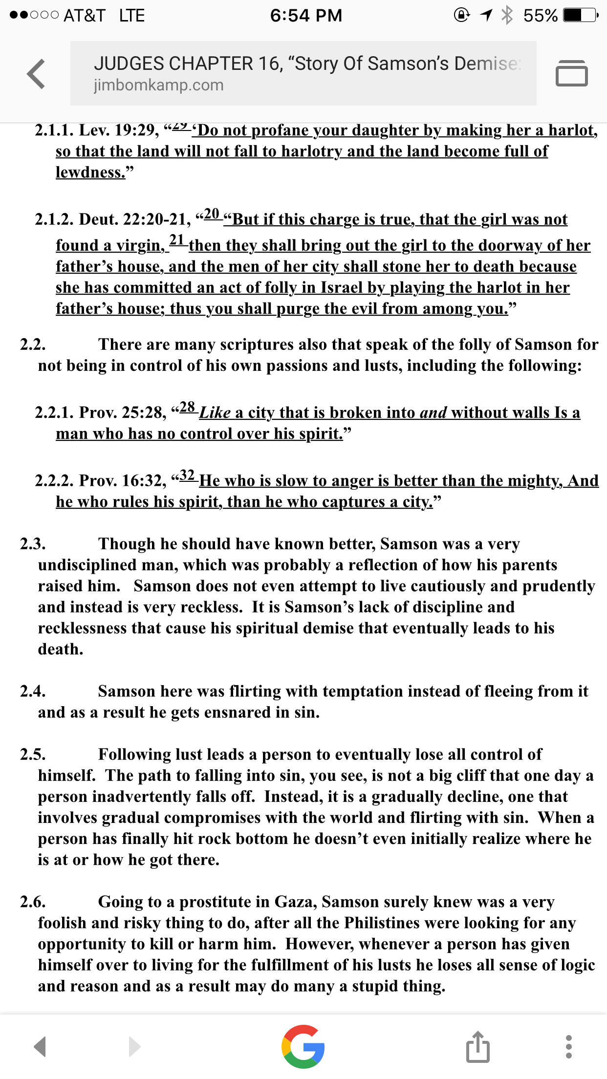 Story Of Samson And Delilah A Commentary