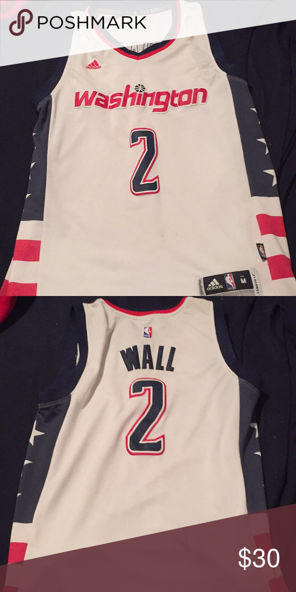 sale retailer 9f40c f4b38 Authentic John wall wizards jersey Size M never worn brand ...