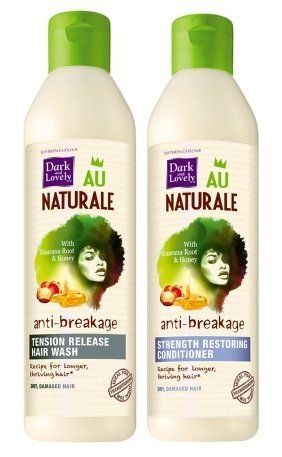 Dark and Lovely Au Naturale Anti-Breakage Shampoo and Conditioner ** Find out more about the great product at the image link.
