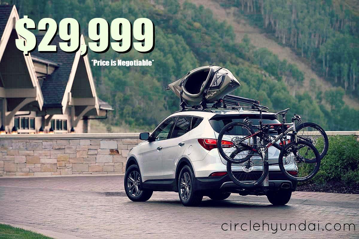 Buy Or Lease A New 2014 Hyundai Santa Fe Here At Circle