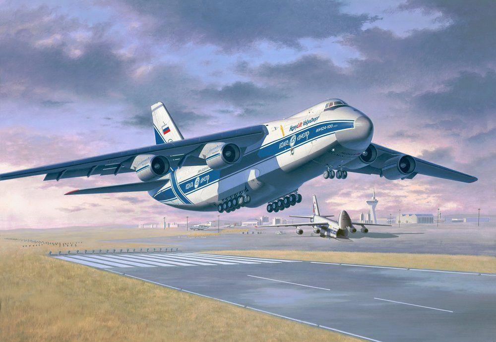 041 04221 Transportflugzeug Antonov An12 Aviation Art Aviation