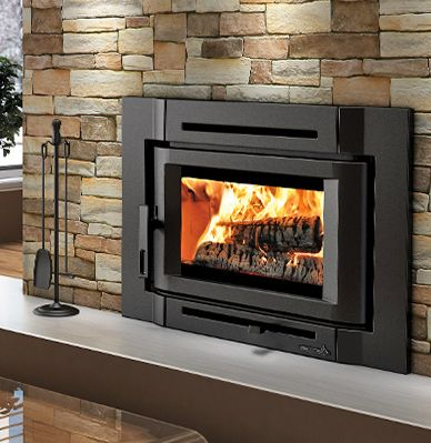 Wood burning fireplace inserts and insert installations in ...