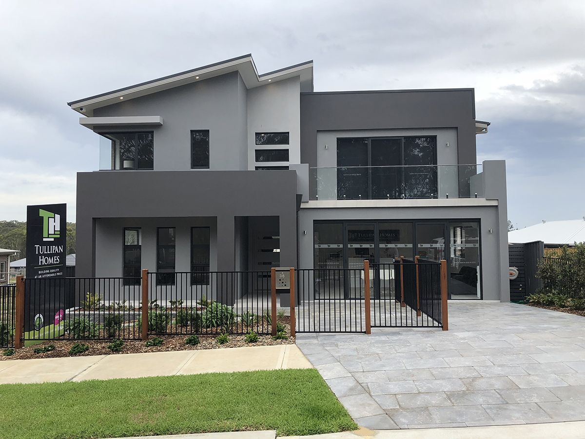 Tullipan Homes display at Warnervale colour design by Samantha