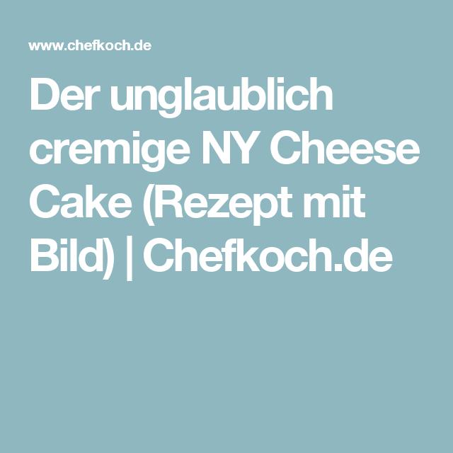 Der unglaublich cremige NY Cheese Cake von demma | Chefkoch