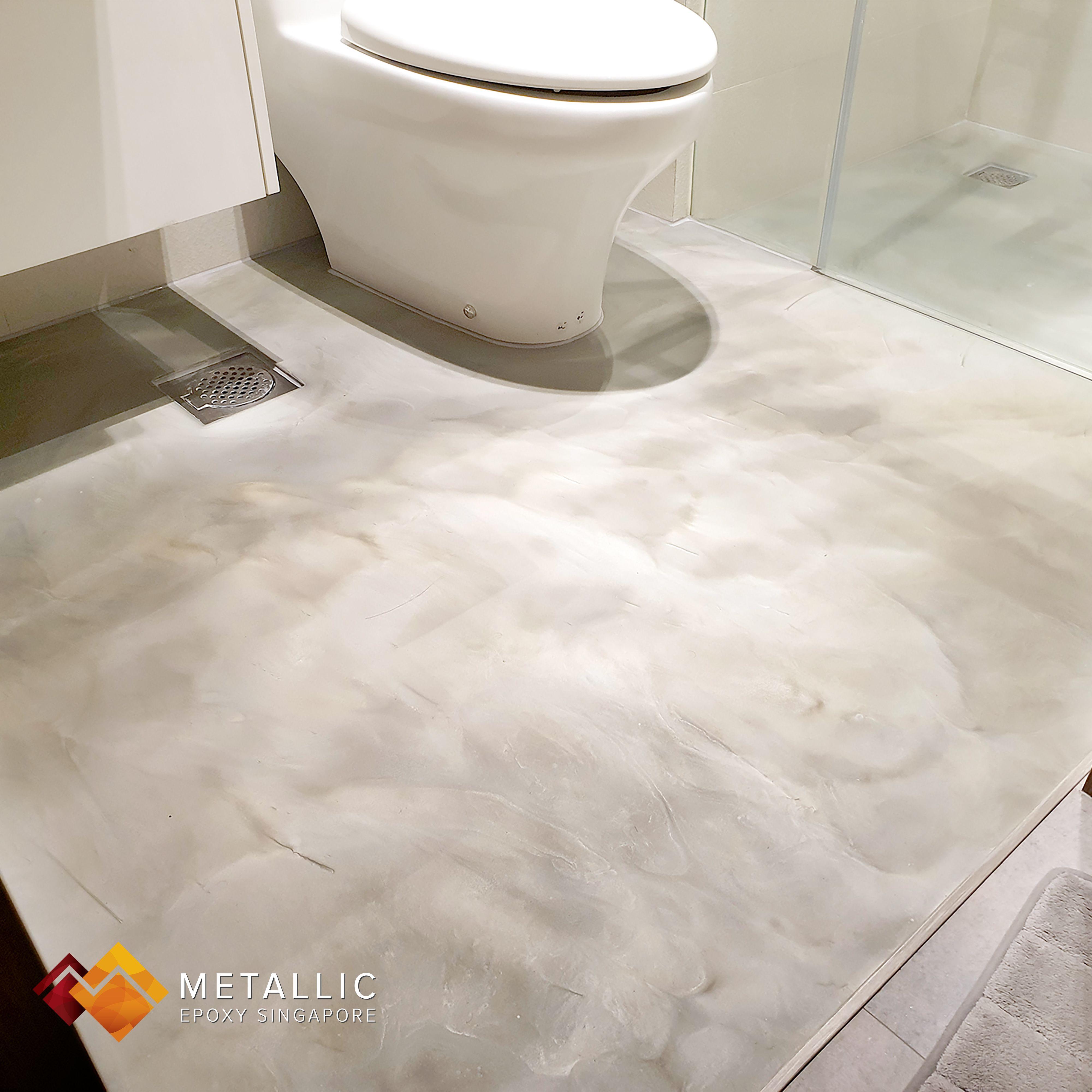 Industrial Concrete Bathroom Floor Theme Concrete Bathroom Bathroom Flooring Flooring