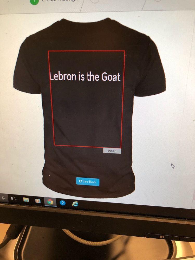 e6874190d48 Lebron James goat t shirt  fashion  clothing  shoes  accessories   mensclothing