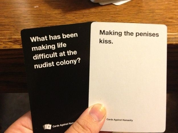 21 Hilarious, Awkward, And Painful Rounds Of Cards Against ...