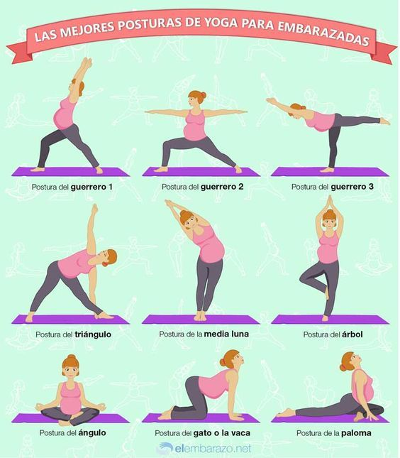 beneficios del yoga para el embarazo