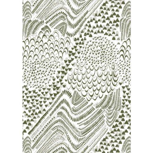Starling Cushion Olive , IMOGEN HEATH