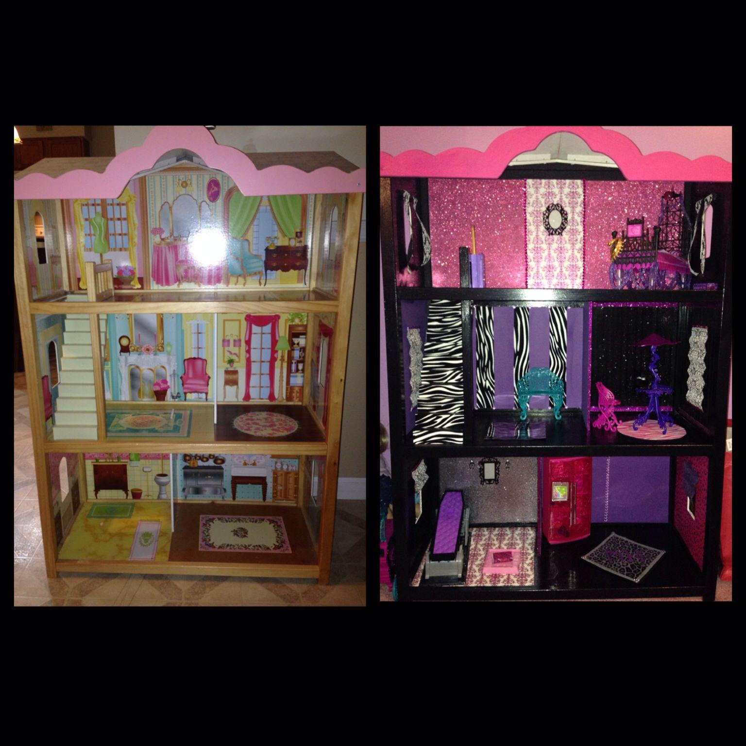 Monster High Doll House Diy Monster High Crafts Monster High