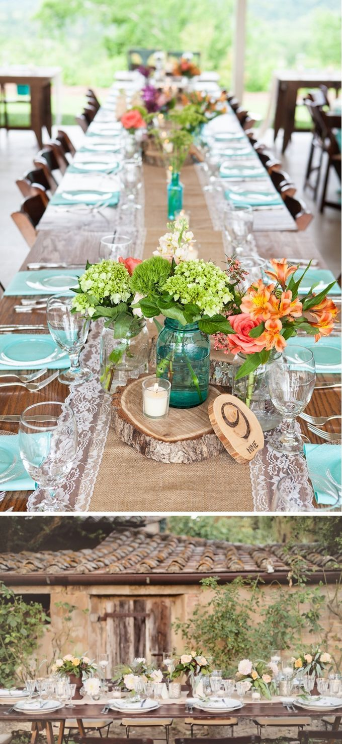Resultado de imagen para arreglo mesa rustica almuerzo for Decoracion mesa rustica