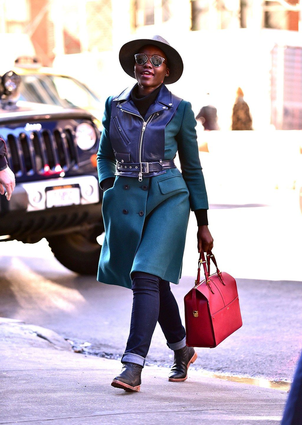 Lupita Nyong?o?s Winter-Bright Street Style Is Our Latest ...