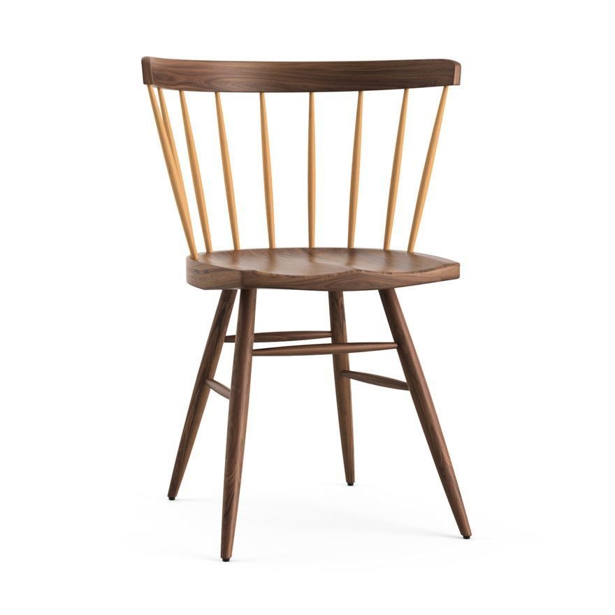 Nakashima Straight Chair A Modern Interpretation Of The Classic Windsor  Chair, The Nakashima Straight Chair Was Originally Designed In 1948 And  Produced By ...