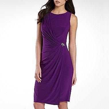 American Living Broach-Detail Side-Drape Dress - jcpenney | My Style ...