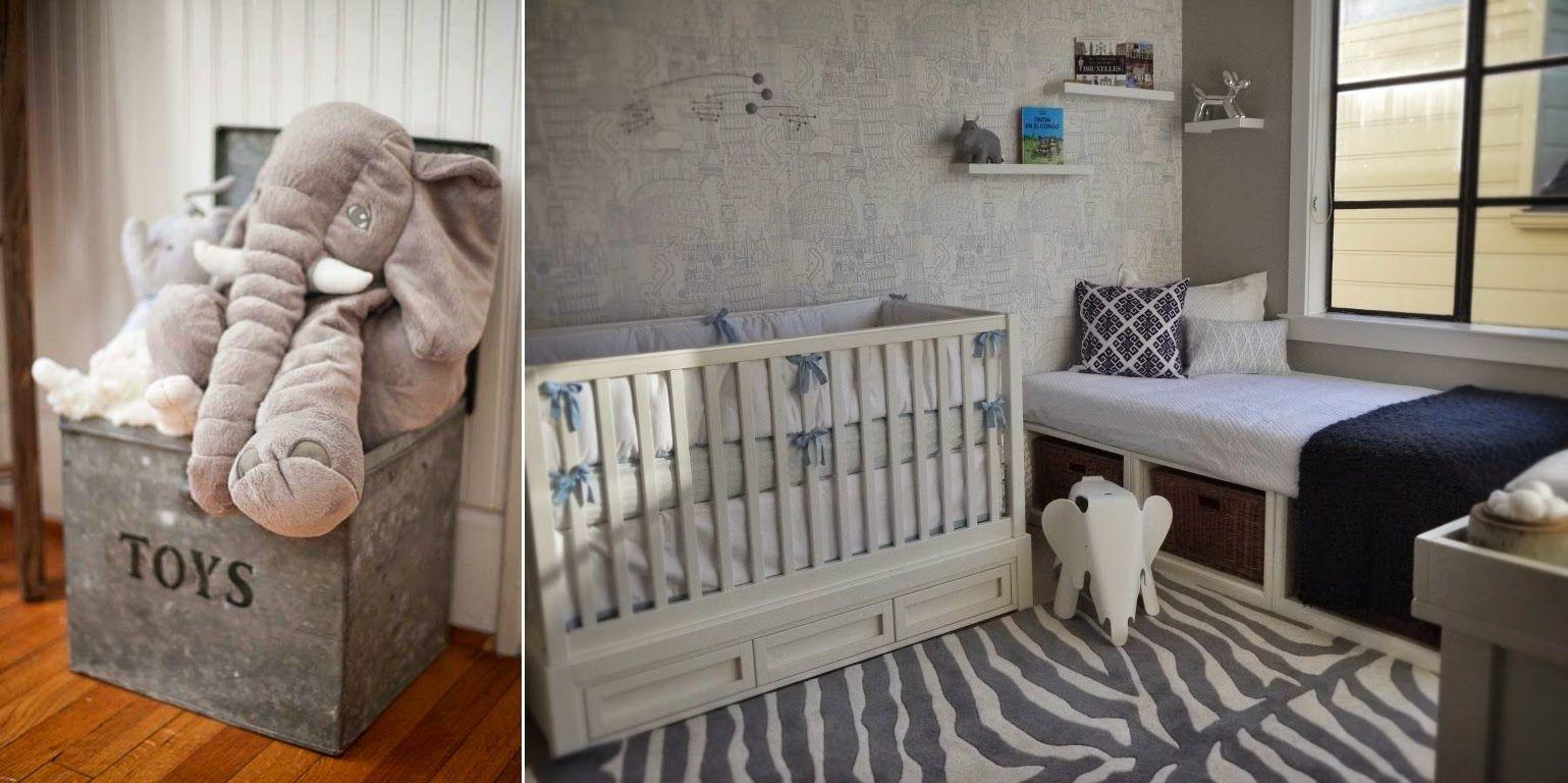 Quartinhos de bebê com tema elefante