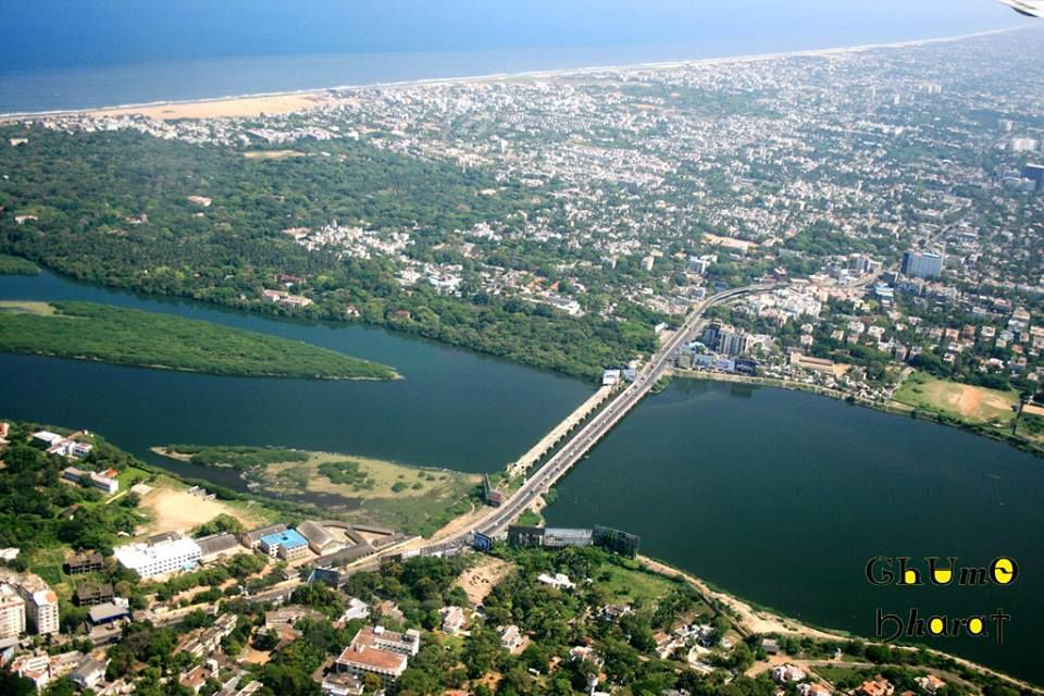 Location : Adyar Estuary, Tamil Nadu | Structures You Can't
