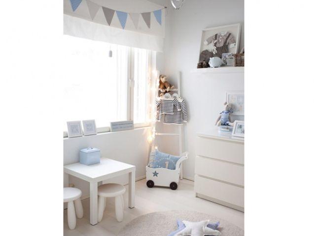 Chambre bebe bleue et blanche | chambre | Pinterest | Chambres ...
