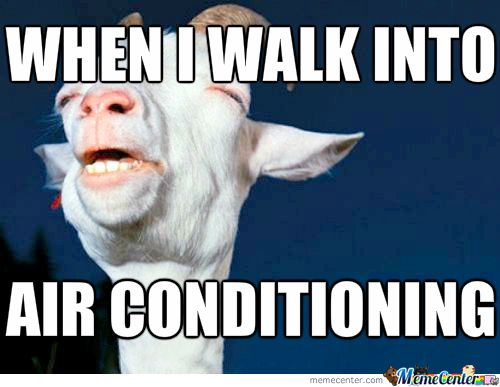 Air Conditioning Air Conditioning Humor Air Conditioning Funny Hot Weather Humor