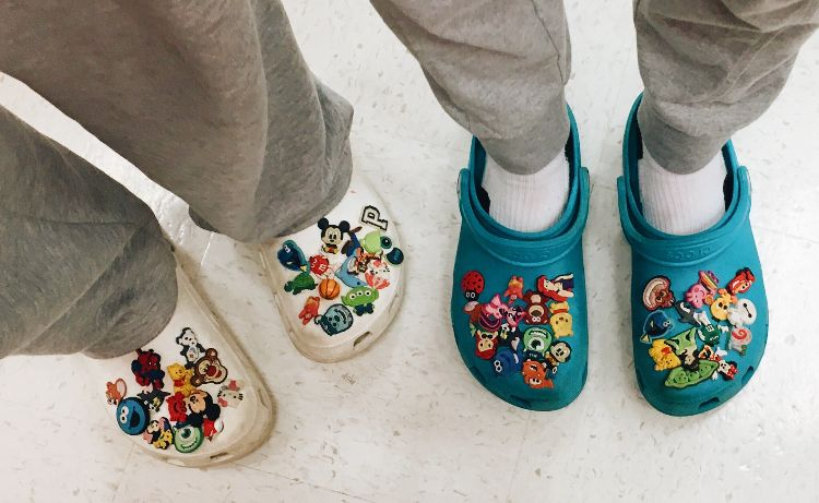 Cute shoes, Crocs, Shoes