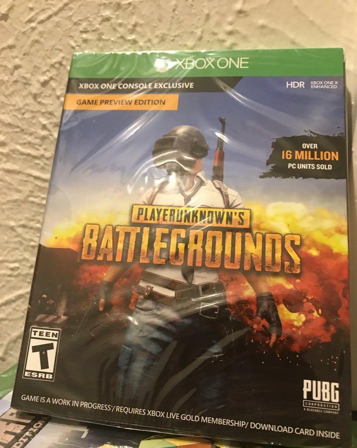 PUBG Player Unknown Battleground Xbox Ga Player unknown