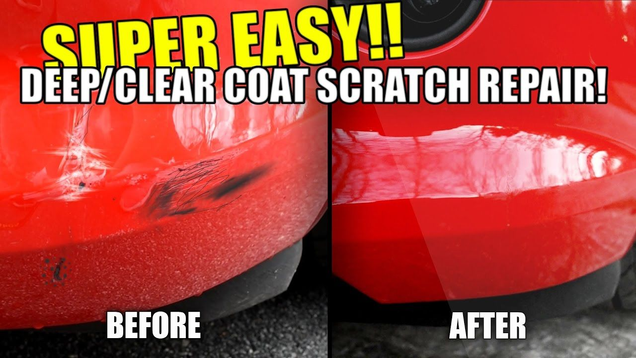 How to repair car scratches in paint deep scratches