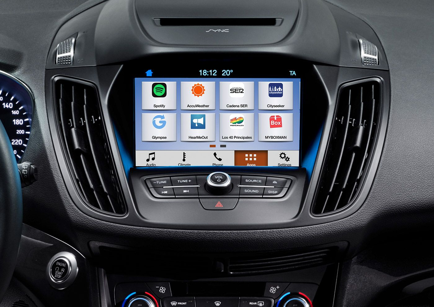 Ford Sync 3 Is Also Heading To Europe This Summer Ford Is Apparently Launching The Sync 3 Connected Car System This Summer Not Only In The U Voiture Ford Auto