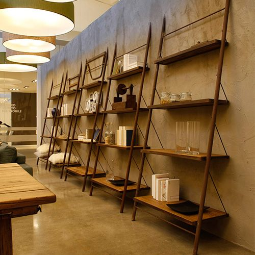 Liberia Easy Leaning Oak Bookcase | Pinterest | Contemporary ...
