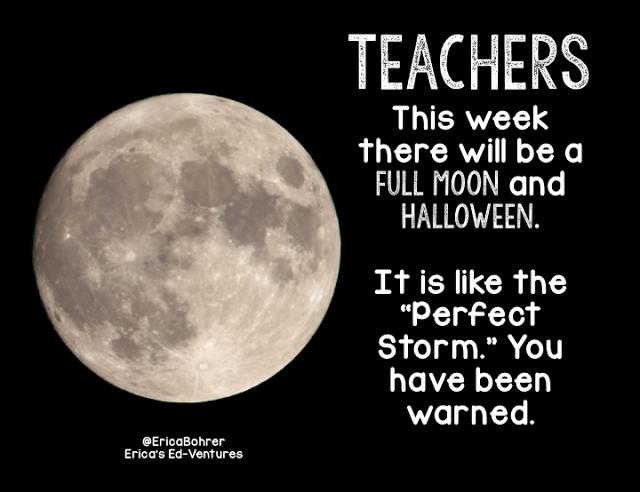 Erica S Ed Ventures Halloween Teaching Humor Teacher Humor Perfect Storm