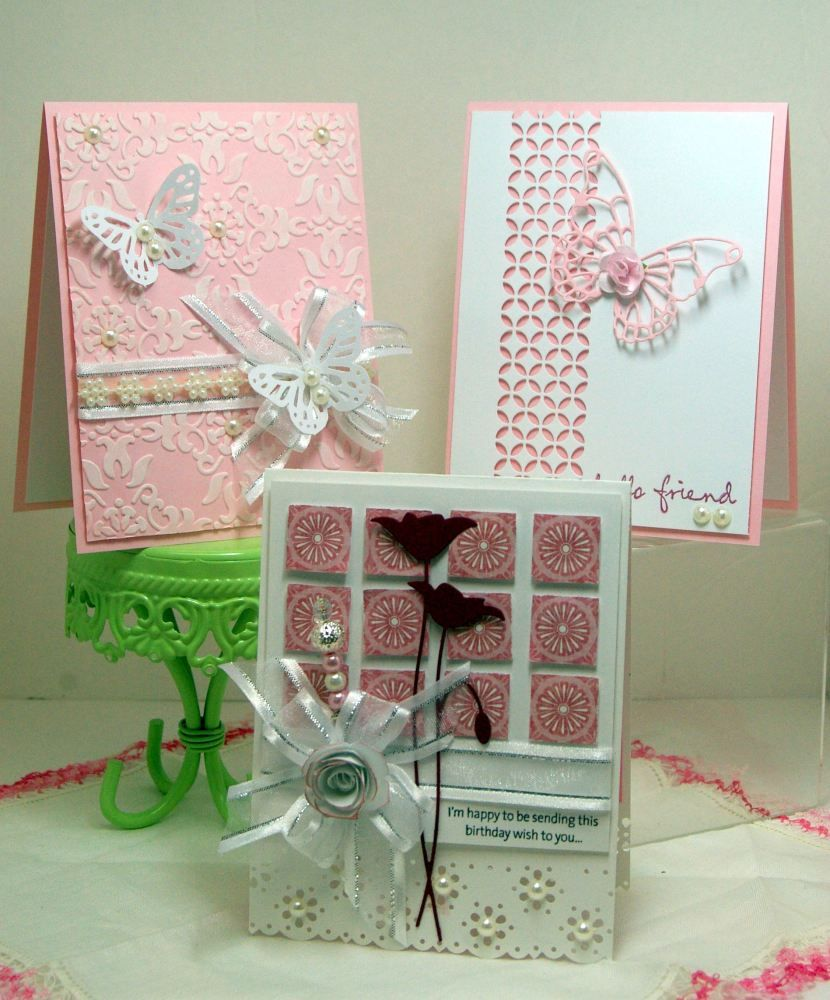 Card Making Class Ideas Part - 15: Pretty In Pink Card Making Class.