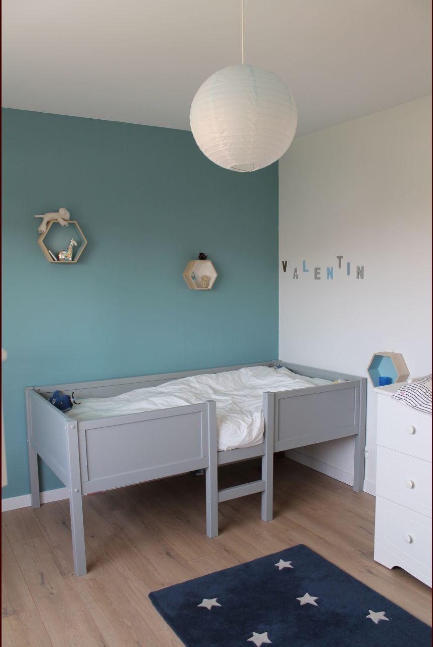 Tres Belle Couleur Bleue Chambre Enfant Kids Bedroom