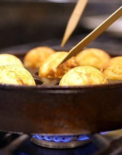 Photo of Recipe: Grandmother's aebleskivers