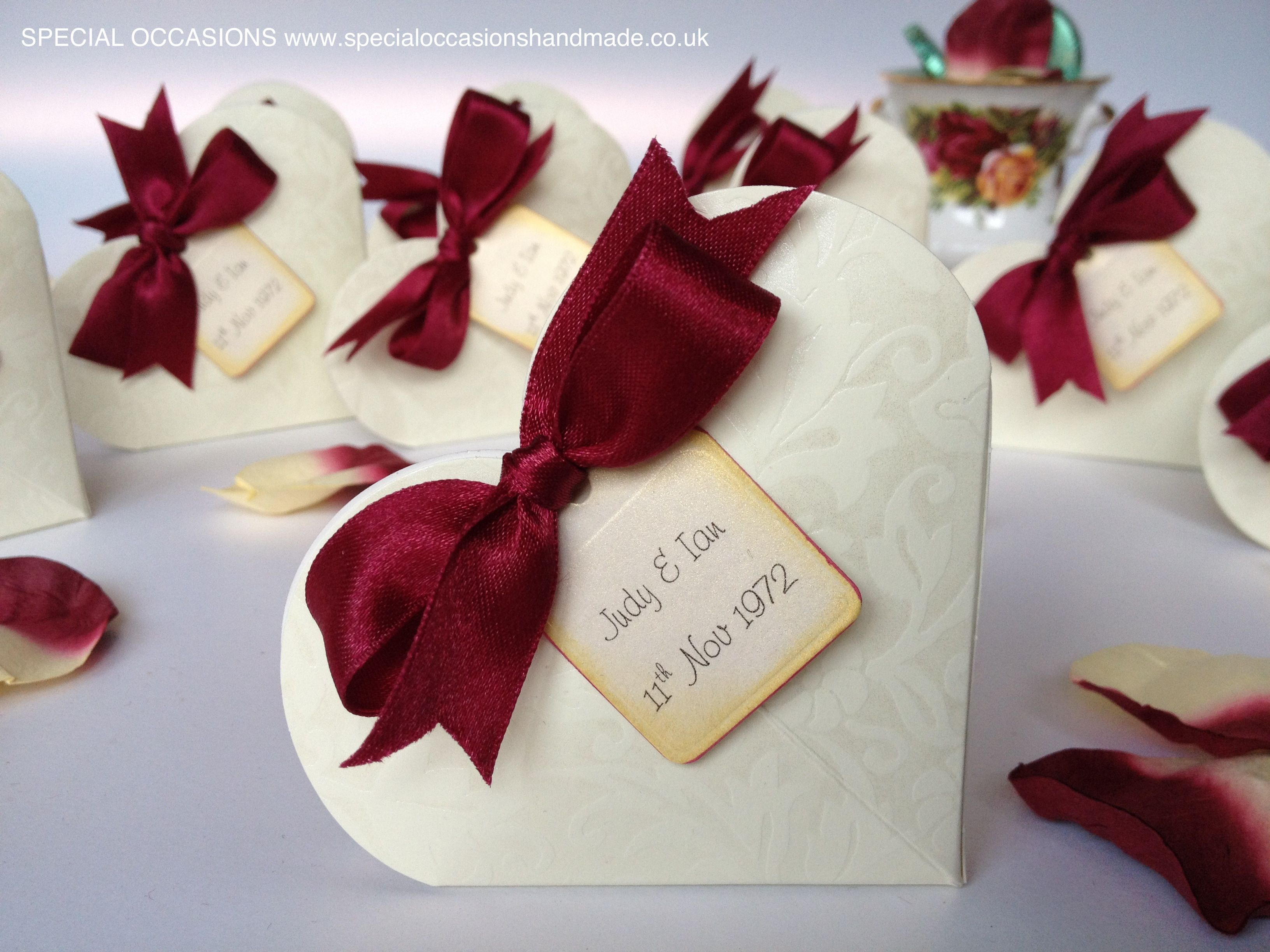 Unusual Ruby Wedding Gifts: Ruby Wedding Anniversary Favours. Www